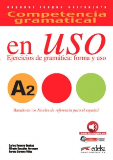 Competencia gramatical EN USO A2 (książka+mp3 do pobrania / alumno+mp3 descargable)