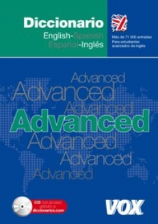 Diccionario ADVANCED English-Spanish/Espańol-Ingles VOX (+CD-ROM