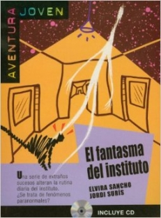 EL FANTASMA DEL INSTITUTO A1-A2 (książka+CD/libro+CD)