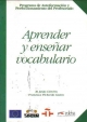 APRENDER Y ENSENAR VOCABULARIO
