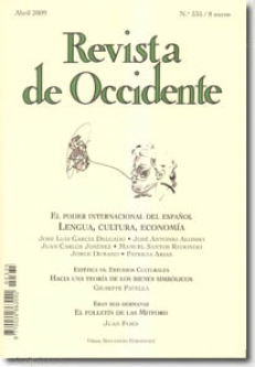 REVISTA DE OCCIDENTE ABRIL 2009 NR 335