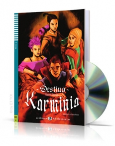 Destino Karminia + CD audio, Poziom B1 – LECTURAS ADOLESCENTES  [*]