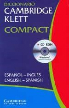 Diccionario CAMBRIDGE-KLETT espańol-ingles/English-Spanish (+CD-